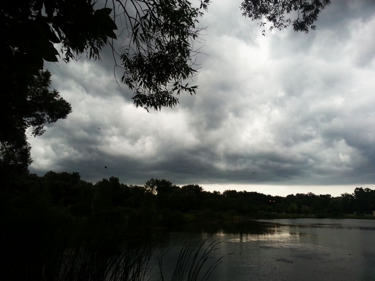 stormy cloudscape