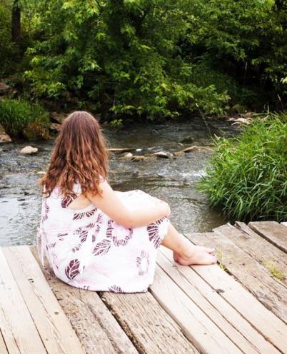 solitude on bridge