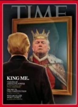 trump as king