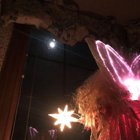 angel in window