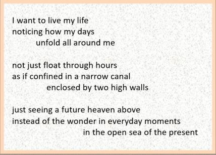 beyond the canal poem